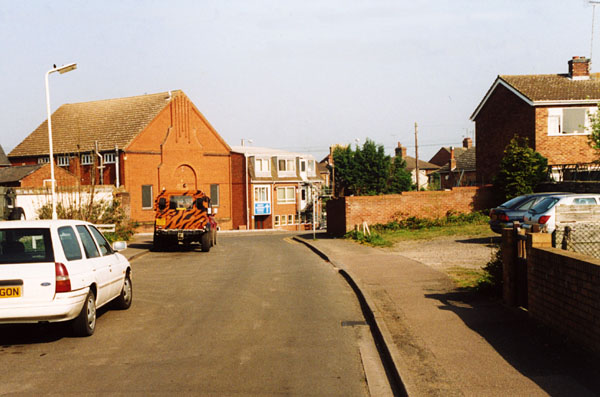 Former site of the old Salvation Army Citadel, Lammas Walk, Leighton Buzzard