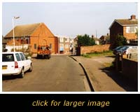 Site of the old Salvation Army Citadel, Lammas Walk, Leighton Buzzard
