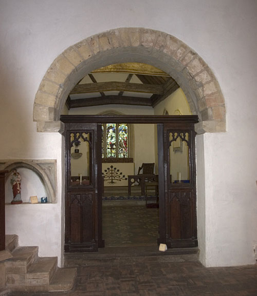 Chancel arch, St. Mary the Virgin, Old Linslade