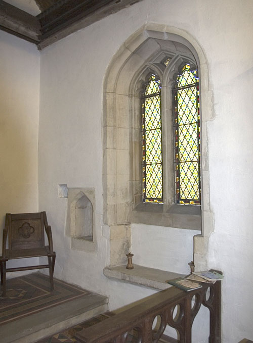 Piscina, Sedile and Recess, St. Mary the Virgin, Old Linslade