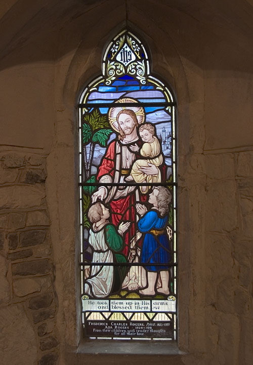 Chancel window, St. Michael, Billington