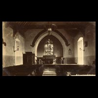 Interior view of St. Michael, Billington