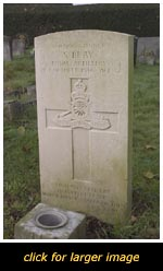 Leighton Buzzard War grave of S. Bray