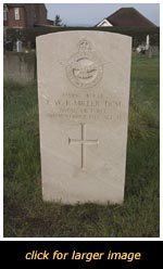 Leighton Buzzard War grave of T. W. L. Miller
